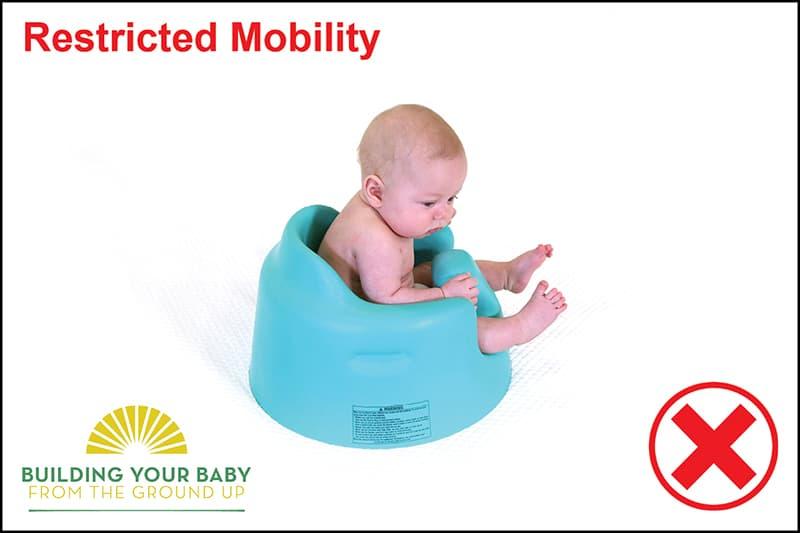 baby in bumbo floor seat