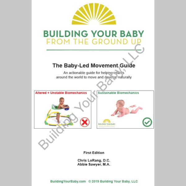baby-led movement guide front cover